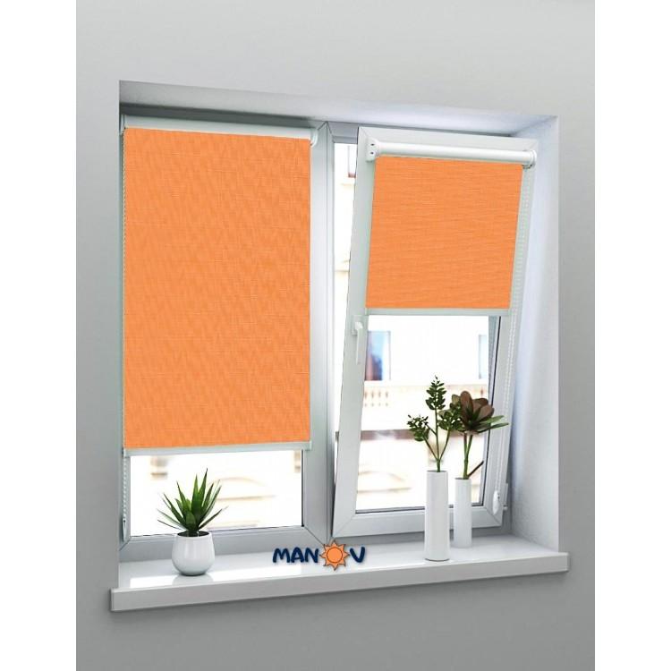 Рулонные шторы LEN Оранжевый L-0852