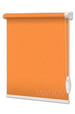 Рулонные шторы Блэкаут Umbra Оранжевый (8 цветов) Все Размеры