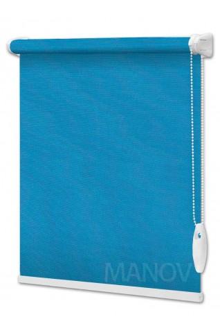 Рулонные шторы Блэкаут NEO Синий (4 цвета) Все Размеры