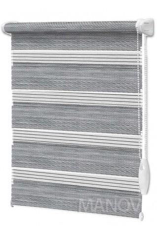 Ролеты День-Ночь Сахара Серый (3 цвета) Все Размеры