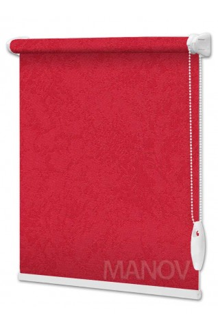 Рулонные шторы Агат Красный (7 цветов) Все Размеры