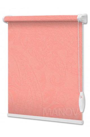 Рулонные шторы Арабеска Розовый (6 цветов) Все Размеры