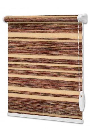 Рулонные шторы Calcutta Коричневый (3 цвета) Под Ваш Размер