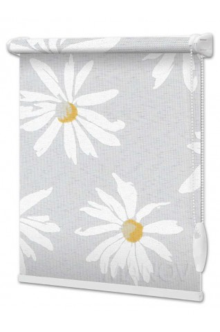 Рулонные шторы Camilla Серый (2 цвета)  Под Ваш Размер