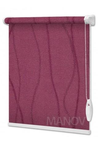 Рулонные шторы Фала Фиолетовый (4 цвета) Все Размеры