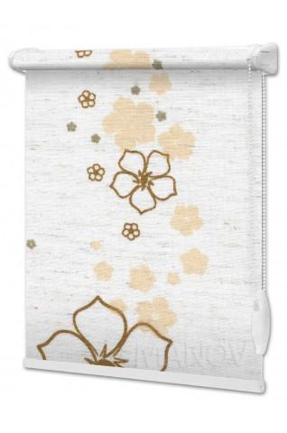 Рулонные шторы Флора (2 цвета)