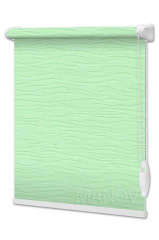 Рулонные шторы Lazur Зеленый (12 цветов) Все Размеры