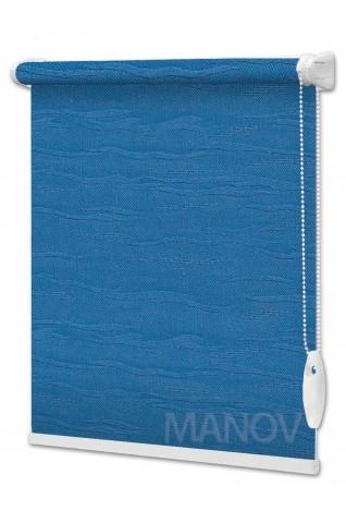 Рулонные шторы Lazur Синий (12 цветов) Все Размеры