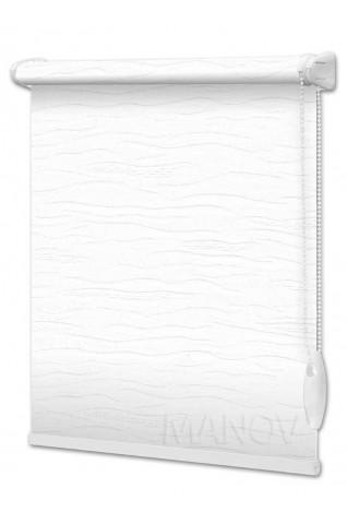 Рулонные шторы Lazur Кремовый (12 цветов) Все Размеры