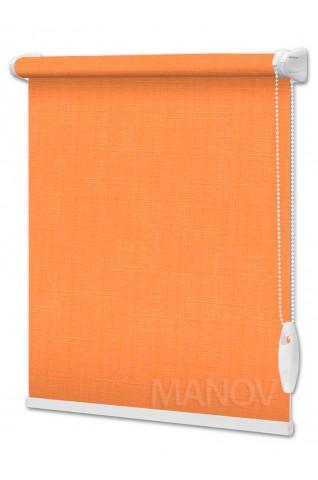 Рулонные шторы LEN Оранжевый (25 цветов) Под Ваш Размер