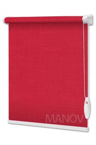Рулонные шторы LEN Красный (25 цветов) Под Ваш Размер