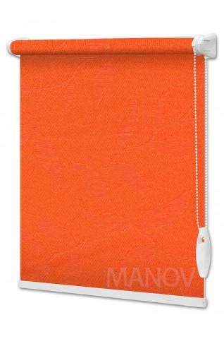 Рулонные шторы Натура Оранжевый (11 цветов) Все Размеры