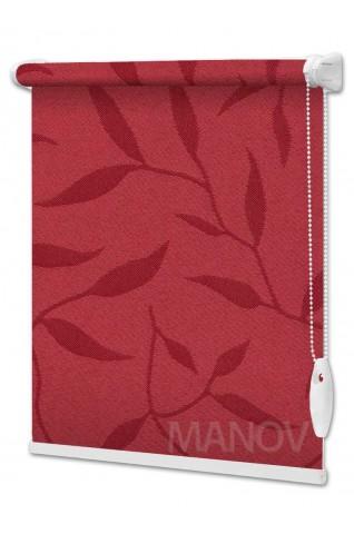 Рулонные шторы Натура Красный (11 цветов) Все Размеры