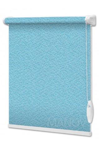 Рулонные шторы Pearl Голубой (9 цветов) Все Размеры