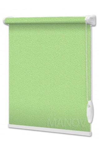Рулонные шторы Pearl Зеленый (9 цветов) Все Размеры
