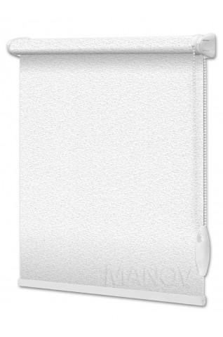 Рулонные шторы Pearl Белый (9 цветов) Все Размеры