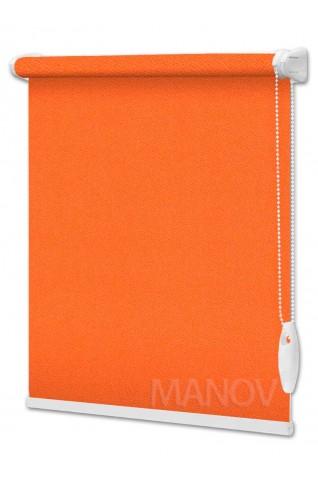 Рулонные шторы Перла Оранжевый (8 цветов) Все Размеры