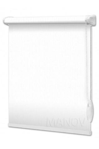 Рулонные шторы Соломка Белый (4 цвета) Все Размеры