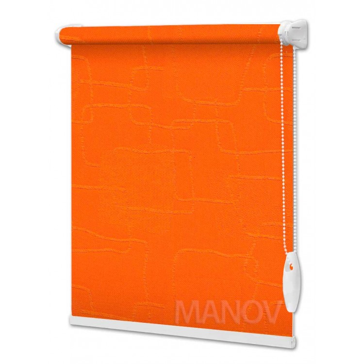 Рулонные шторы Топаз Оранжевый 2232
