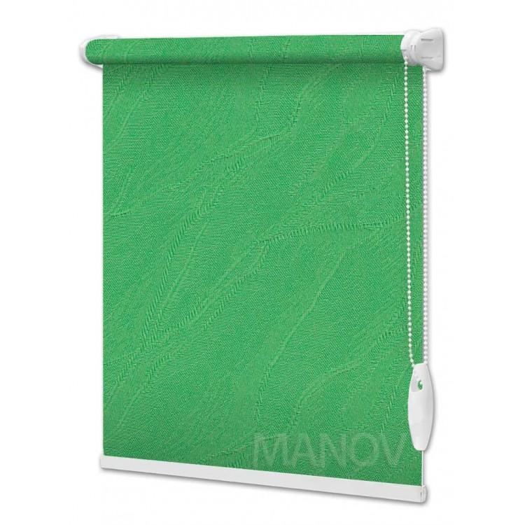 Рулонные шторы Woda Зеленый 2159