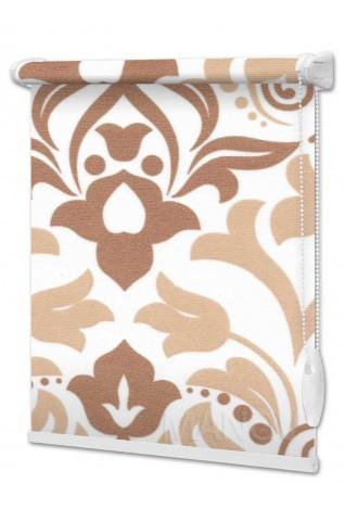 Рулонные шторы Barocco Коричневый (2 цвета) Под Ваш Размер