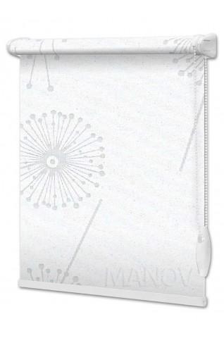 Рулонные шторы Barvy Белый (6 цветов) Все Размеры