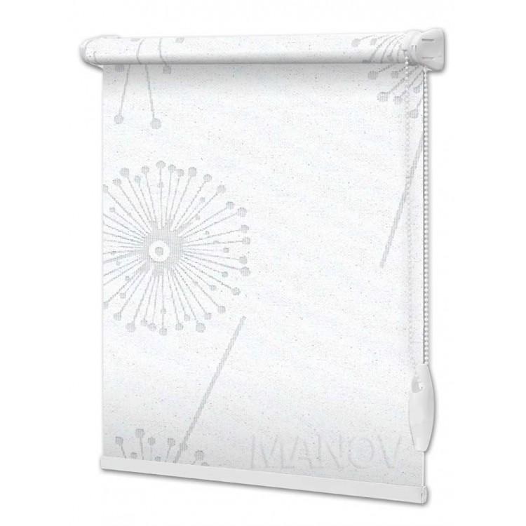 Рулонные шторы Barvy Белый 5428-1
