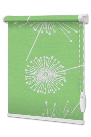 Рулонные шторы Barvy Зеленый (6 цветов) Все Размеры