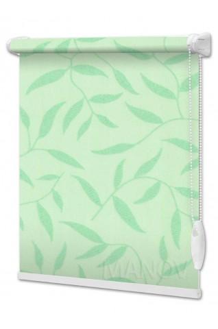 Рулонные шторы Batik Зеленый (4 цвета) Под Ваш Размер
