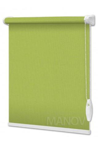 Рулонные шторы Berlin Зеленый (23 цвета) Под Ваш Размер