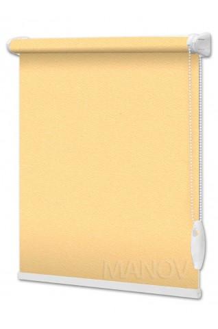 Рулонные шторы Перла Желтый (8 цветов) Все Размеры
